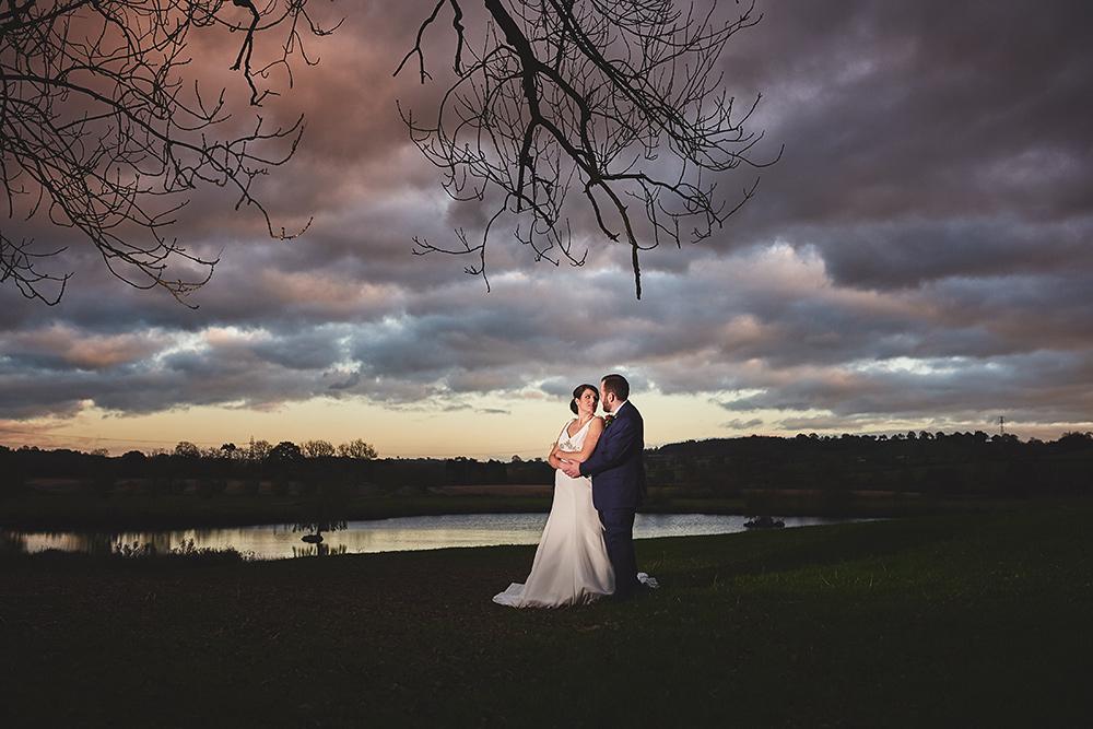 Sunset wedding photographer - The Ashes