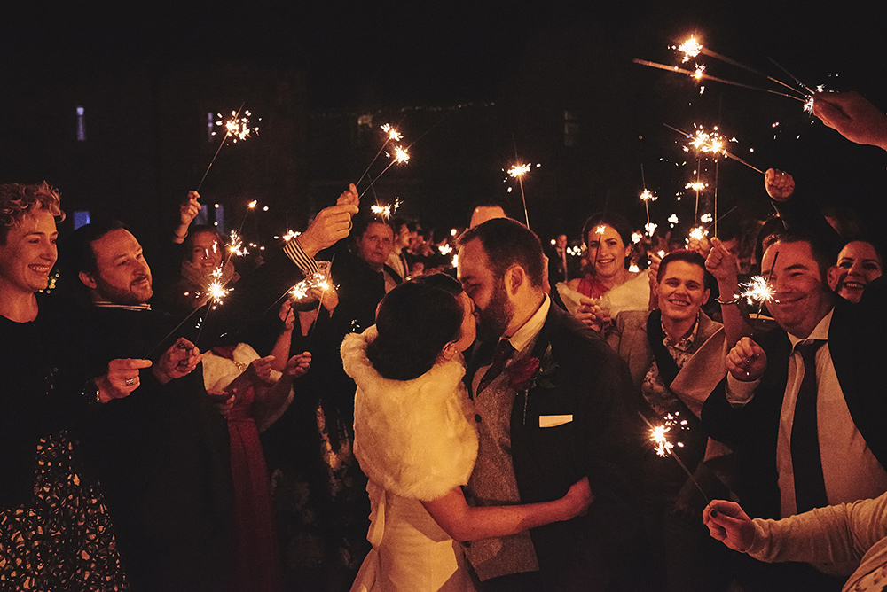Sparklers at your wedding