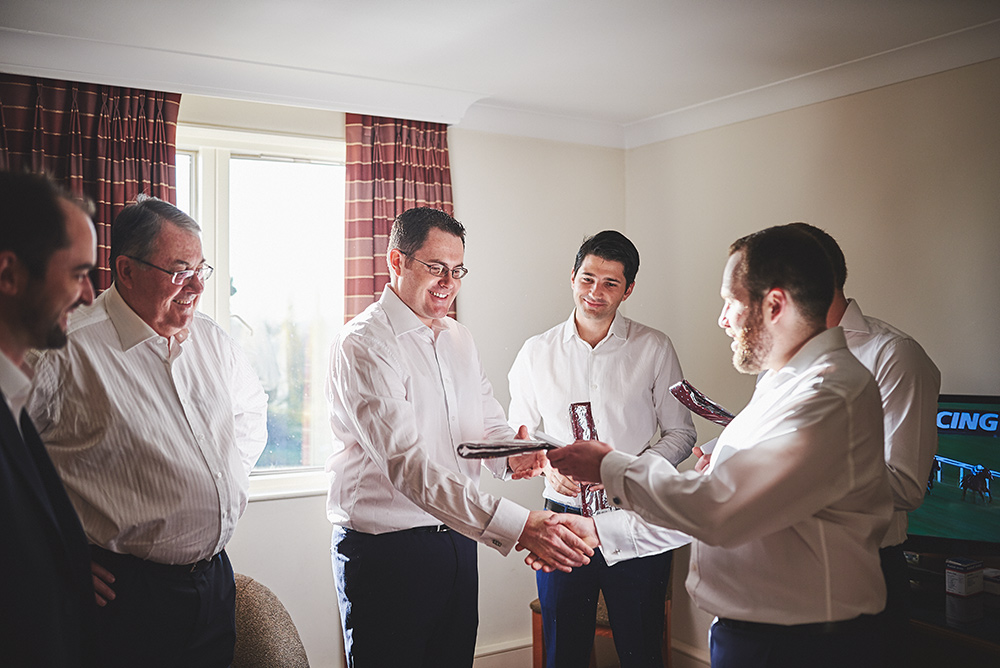 The Moat House Hotel - The groomsman