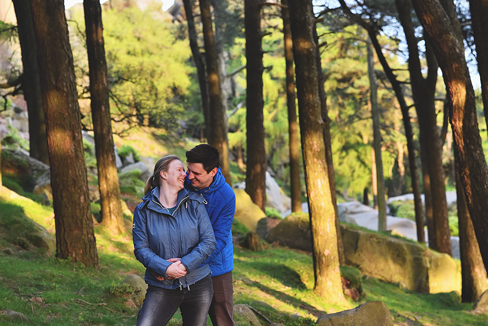Pre-wedding photography in Staffordshire