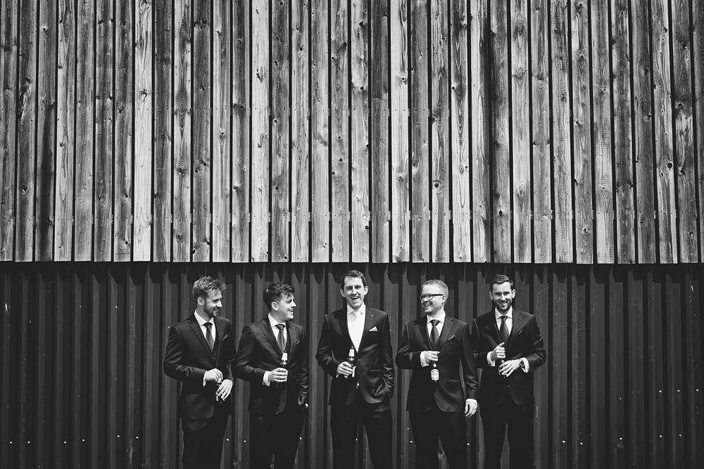 The groomsman - Sandhole Oak Barn Wedding