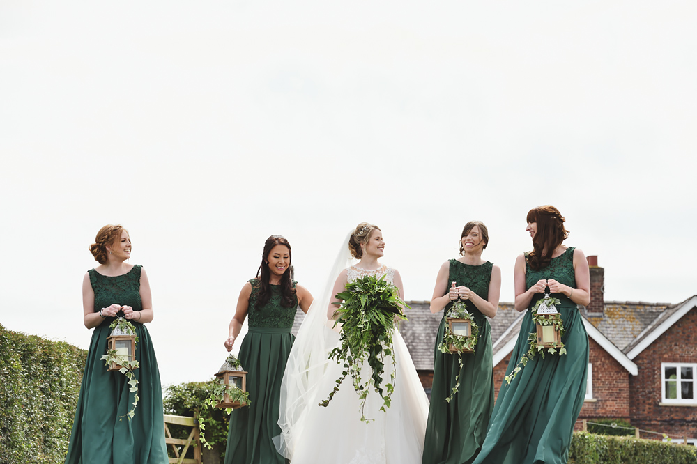 Bridesmaids - Sandhole Oak Barn Wedding