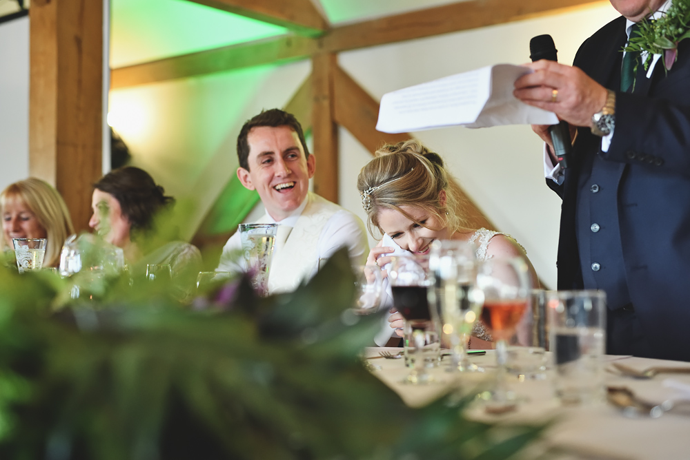 Speeches - Sandhole Oak Barn Wedding