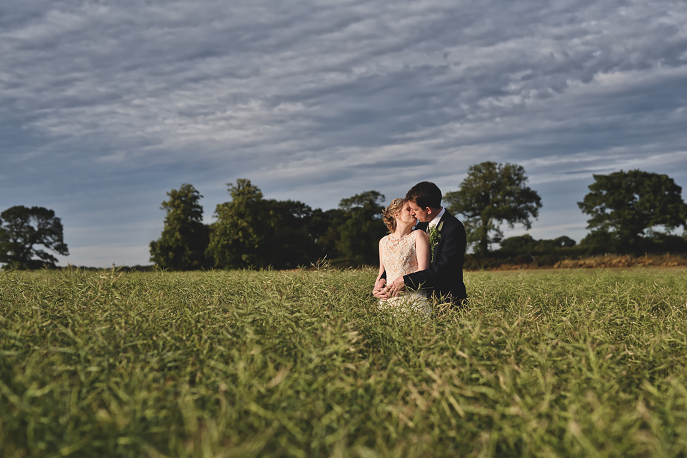 The field of love - Sandhole Oak Barn Wedding