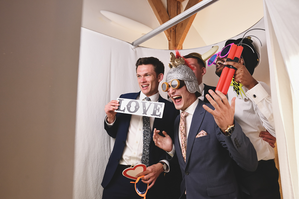 Photo booths - Sandhole Oak Barn Wedding