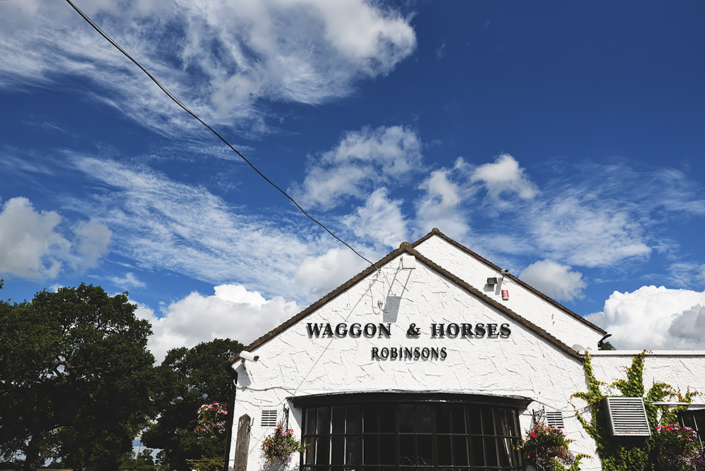 Waggon & Horses - Sandhole Oak Barn Wedding