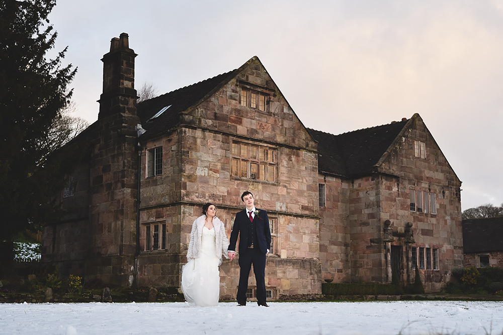 Winter Wedding at The Ashes in Staffordshire