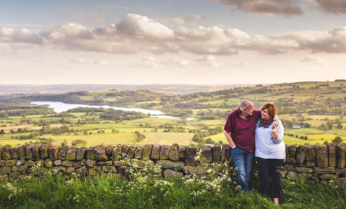 Engagement photographer Staffordshire