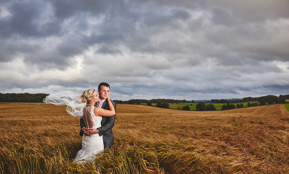 Farm Wedding In Staffordshire