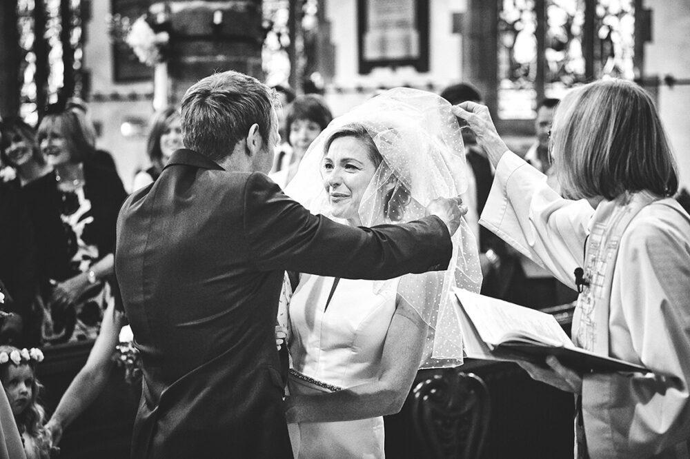 Prestbury Church first look wedding photography