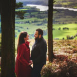 Peak District National Park pre-wedding session